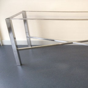image 32 - Stainless Sleet Table Base Frame