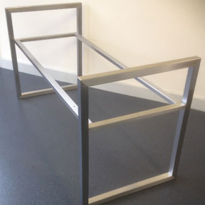 Stainless Steel Bench Frame