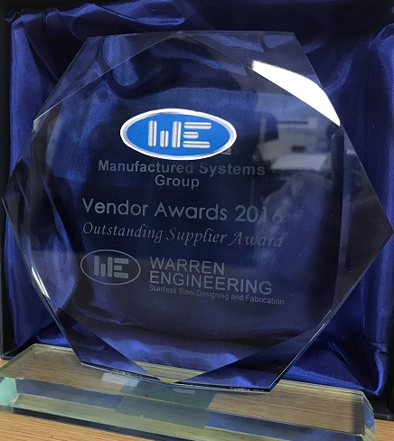 Vendor Awards 2016